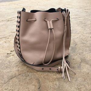 Rebecca Minkoff screw stud bucket bag